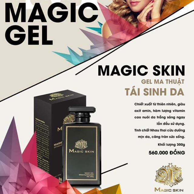 Gel ma thuật Magic Skin