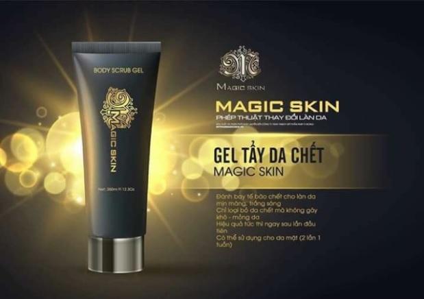 Gel tẩy da chết Magic Skin