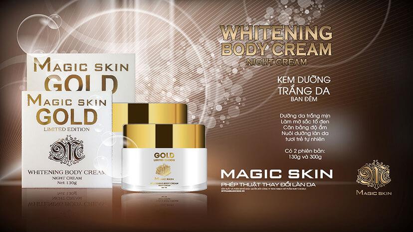 Kem body đêm Magic Skin