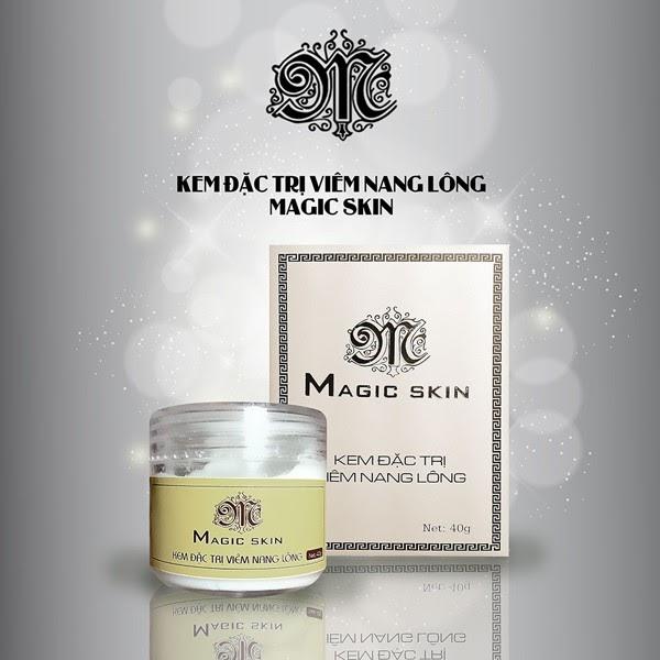 Kem đặc trị viêm nang lông Magic Skin