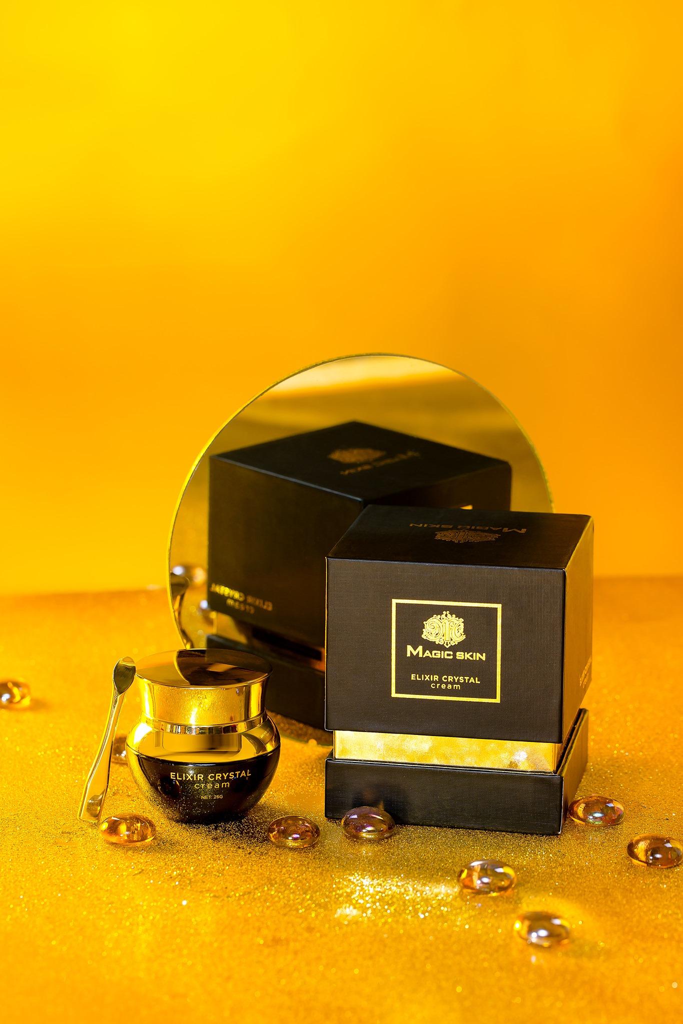 Kem ngọc trai đen Magic Skin - Elixir Crystal Cream
