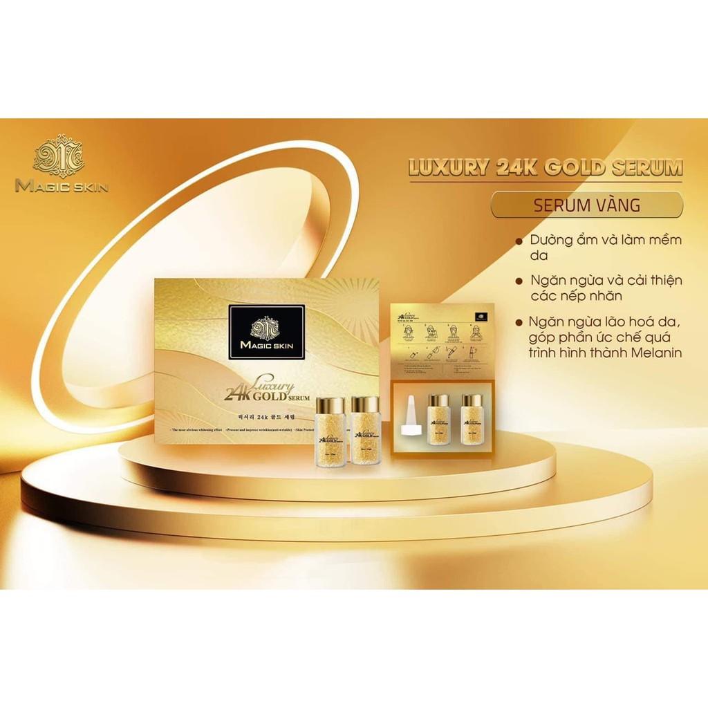Serum tế bào gốc vàng 24K Magic Skin