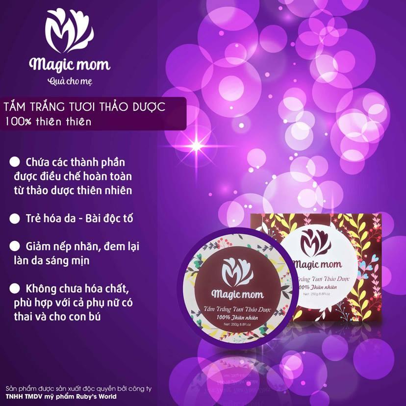 Tắm trắng tươi thảo dược Magic Mom