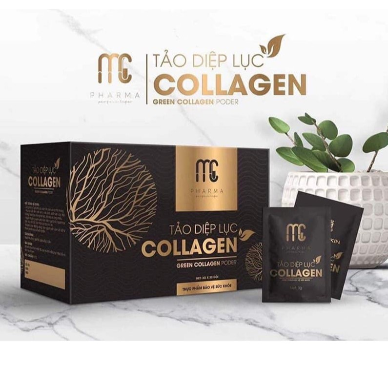 Tảo diệp lục Collagen Magic Skin