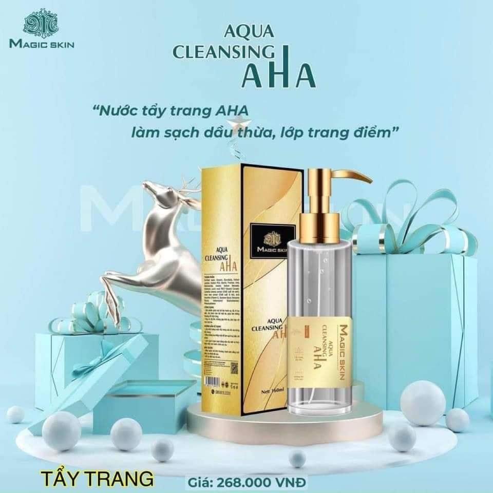 Tẩy trang AHA Magic Skin